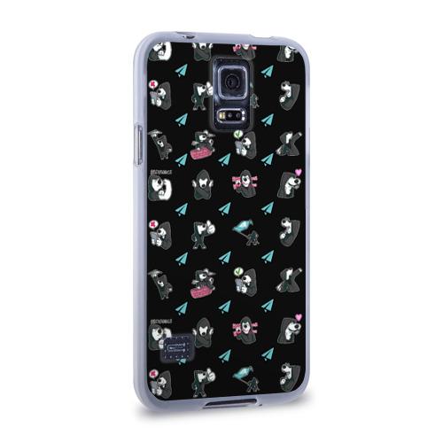 Чехол для Samsung Galaxy S5 силиконовый  Фото 02, Digital Resistance Pattern