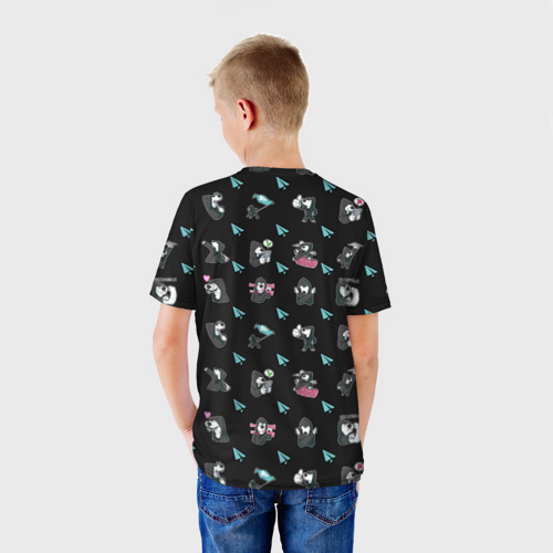 Детская футболка 3D  Фото 02, Digital Resistance Pattern