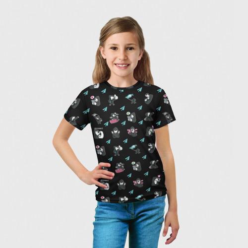 Детская футболка 3D  Фото 03, Digital Resistance Pattern