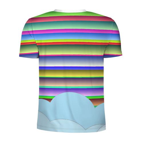 Мужская футболка 3D спортивная  Фото 02, Telegram