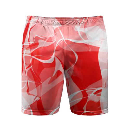 Мужские шорты 3D спортивные  Фото 01, Абстрактный дым
