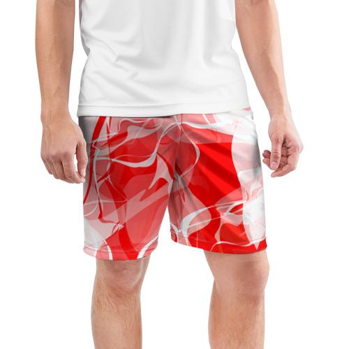 Мужские шорты 3D спортивные  Фото 03, Абстрактный дым