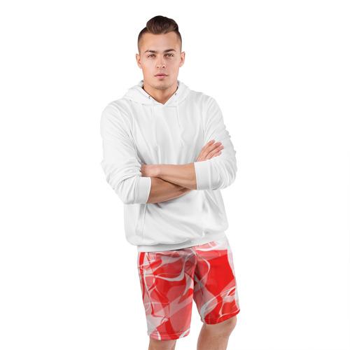 Мужские шорты 3D спортивные  Фото 05, Абстрактный дым