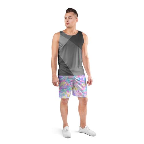 Мужские шорты 3D спортивные  Фото 04, Веселые стикеры