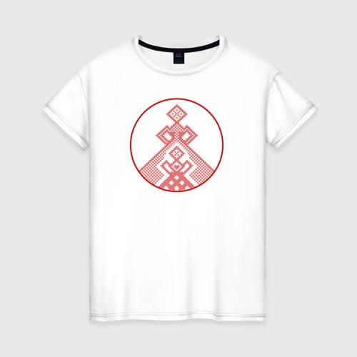 Женская футболка хлопок Берегиня