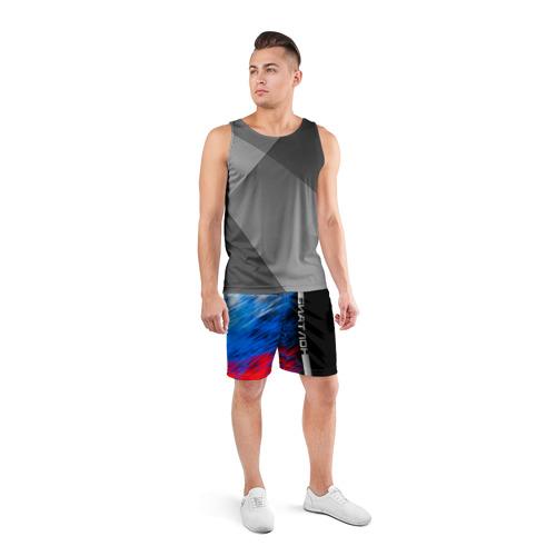 Мужские шорты 3D спортивные  Фото 04, Биатлон