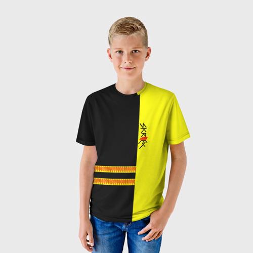 Детская футболка 3D  Фото 01, Skrillex