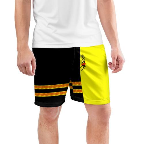 Мужские шорты 3D спортивные  Фото 03, Skrillex