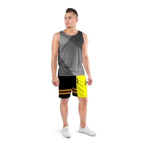 Мужские шорты 3D спортивные  Фото 04, Skrillex