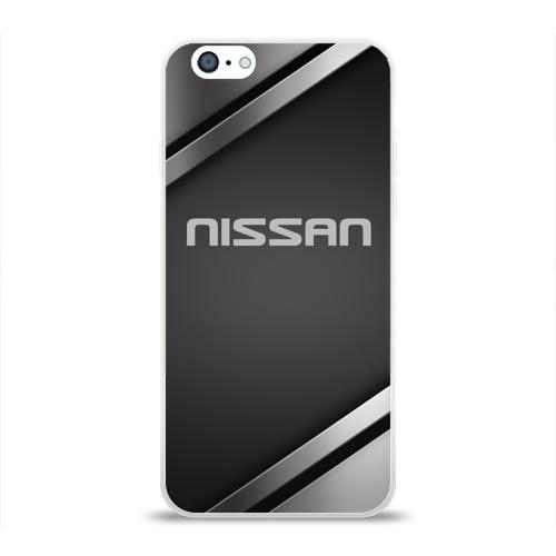 Чехол для Apple iPhone 6 силиконовый глянцевый  Фото 01, Nissan