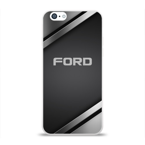 Чехол для Apple iPhone 6 силиконовый глянцевый  Фото 01, Ford