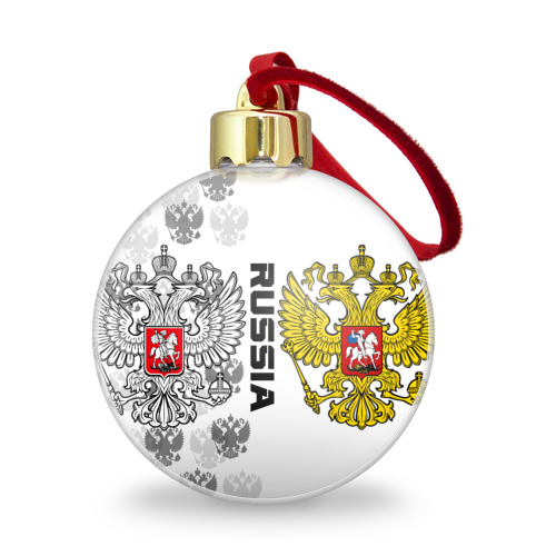 Ёлочный шар с блестками  Фото 01, Russia