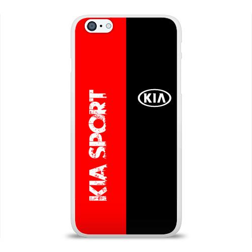 Чехол для Apple iPhone 6Plus/6SPlus силиконовый глянцевый  Фото 01, KIA SPORT