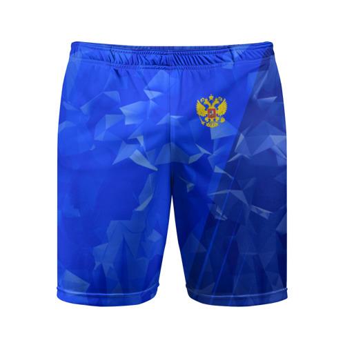 Мужские шорты 3D спортивные  Фото 01, RUSSIA SPORT