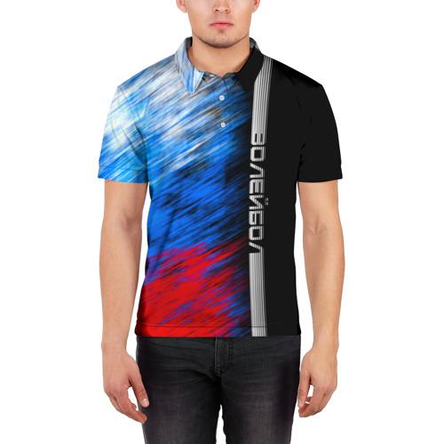 Мужская рубашка поло 3D  Фото 03, Волейбол