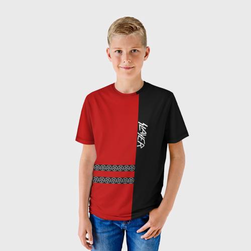 Детская футболка 3D  Фото 01, Slayer