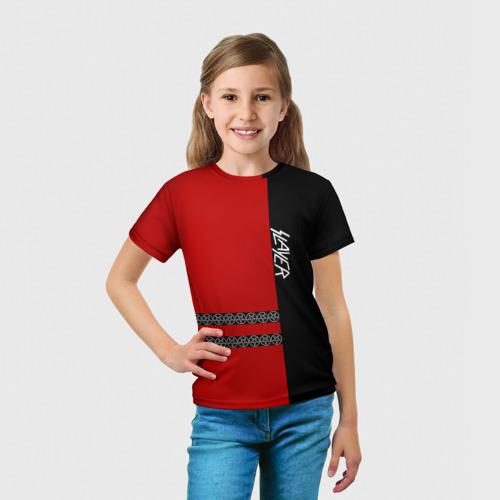 Детская футболка 3D  Фото 03, Slayer