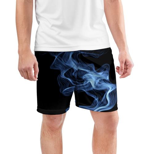 Мужские шорты 3D спортивные  Фото 03, SMOKE