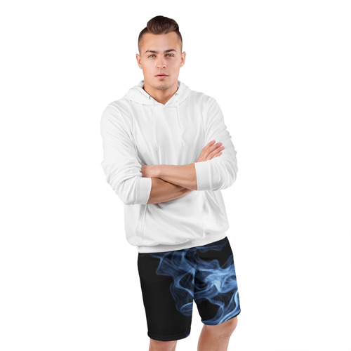 Мужские шорты 3D спортивные  Фото 05, SMOKE