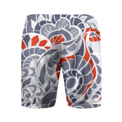 Мужские шорты 3D спортивные  Фото 02, Цветочный узор