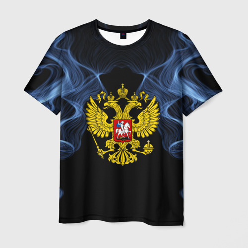 Мужская футболка 3D 'Россия'