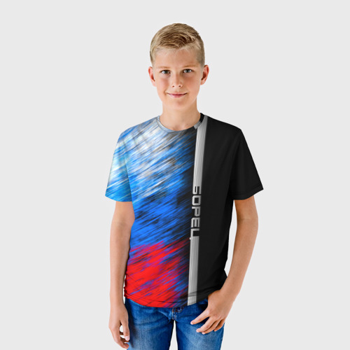 Детская футболка 3D  Фото 01, Борец
