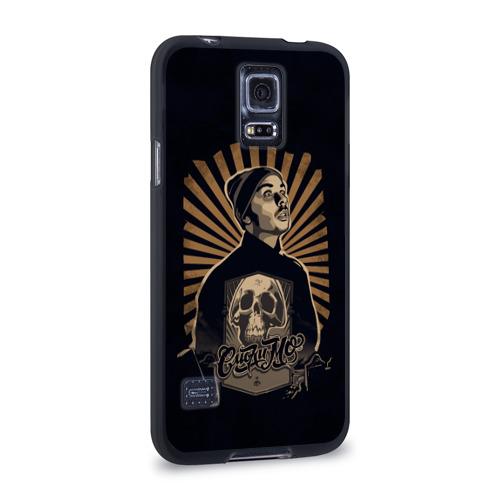 Чехол для Samsung Galaxy S5 силиконовый  Фото 02, Смоки Мо