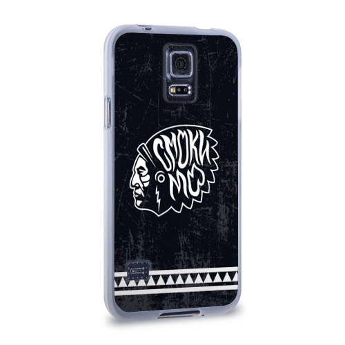 Чехол для Samsung Galaxy S5 силиконовый  Фото 02, Смоки
