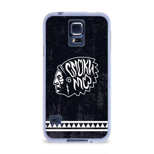 Чехол для Samsung Galaxy S5 силиконовый  Фото 01, Смоки