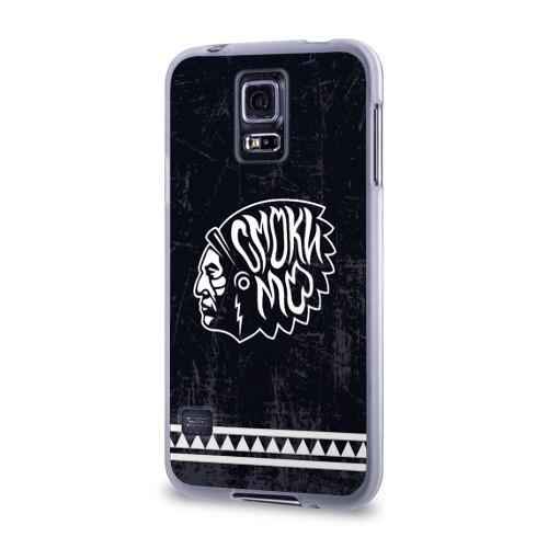 Чехол для Samsung Galaxy S5 силиконовый  Фото 03, Смоки