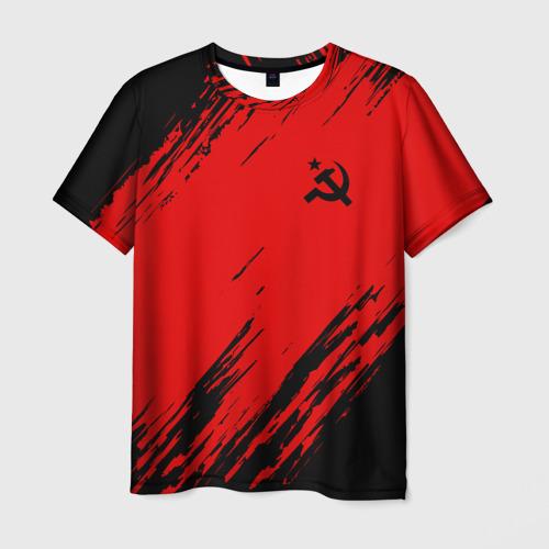 Мужская футболка 3D USSR SPORT | СССР Фото 01
