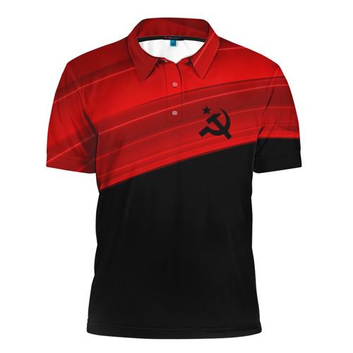 Мужская рубашка поло 3D  Фото 01, USSR SPORT