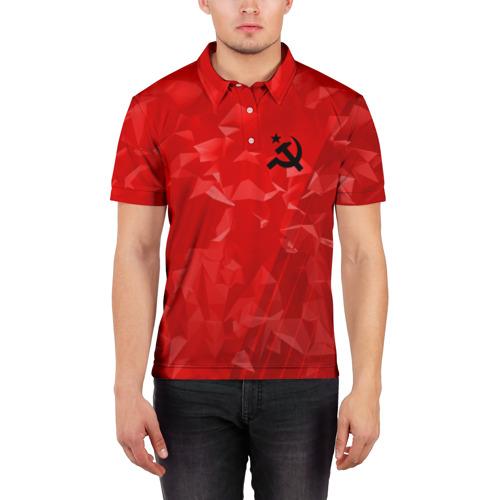 Мужская рубашка поло 3D  Фото 03, USSR SPORT