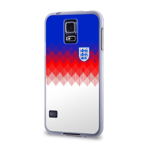 Чехол для Samsung Galaxy S5 силиконовый  Фото 03, Англия тренировочная форма ЧМ-2018