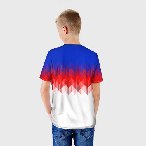 Детская футболка 3D  Фото 02, Англия тренировочная форма ЧМ-2018