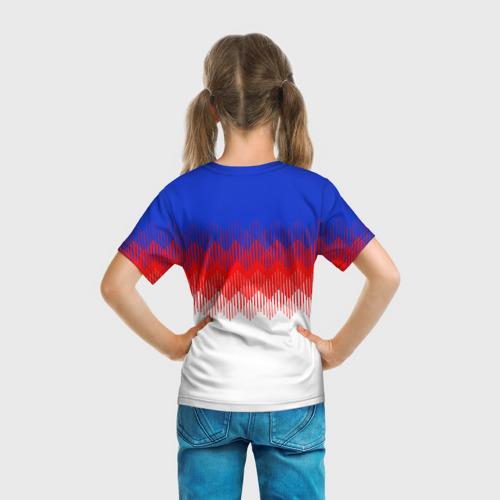 Детская футболка 3D  Фото 04, Англия тренировочная форма ЧМ-2018