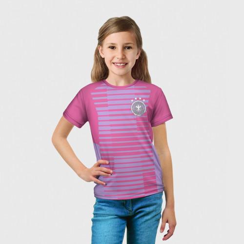 Детская футболка 3D  Фото 03, Cборная Германии ЧМ 2018