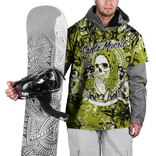 Накидка на куртку 3D  Фото 01, Santa Muerte