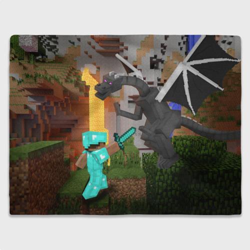 Стив сражается с Эндердраконом