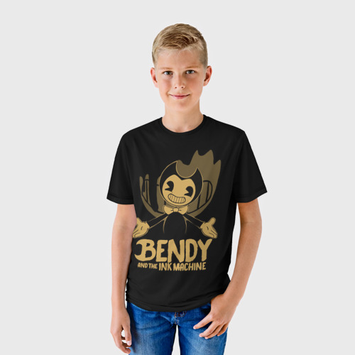 Детская футболка 3D Bendy and the ink machine (20)