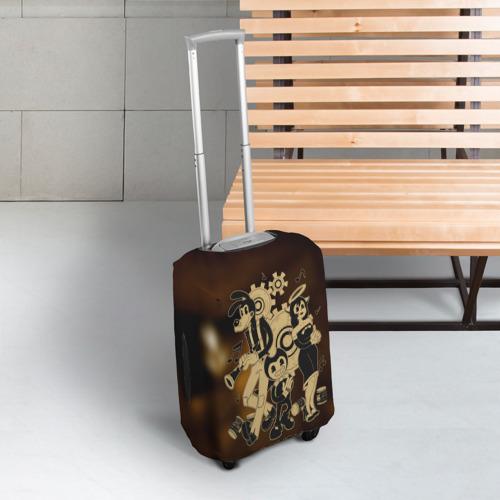 Чехол для чемодана 3D Bendy and the ink machine (16) Фото 01