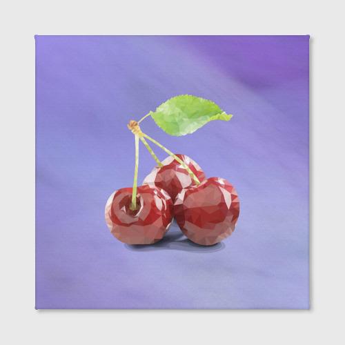 Холст квадратный  Фото 02, Polygon cherry
