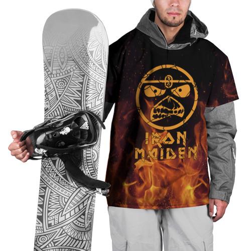 Накидка на куртку 3D  Фото 01, Iron Maiden