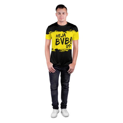 Мужская футболка 3D спортивная  Фото 04, Borussia Dortmund FC