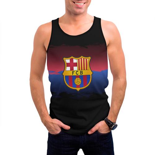 Мужская майка 3D  Фото 03, Barcelona FC