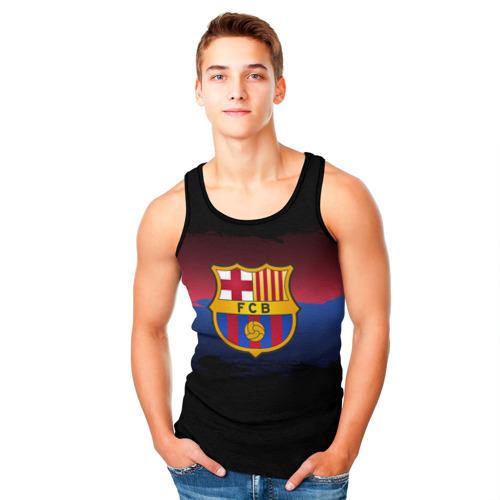 Мужская майка 3D  Фото 05, Barcelona FC