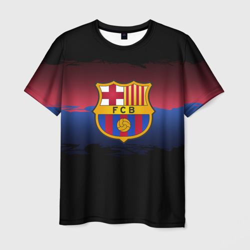 Мужская футболка 3D  Фото 03, Barcelona FC