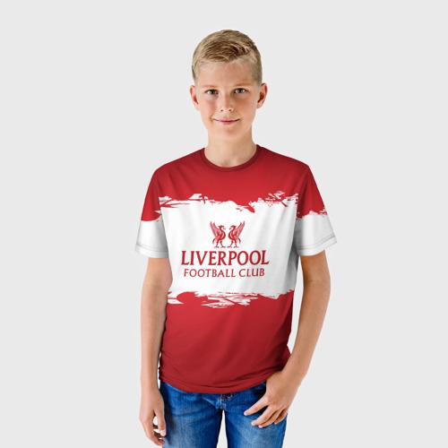 Детская футболка 3D  Фото 01, Liverpool FC