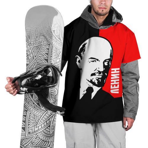 Накидка на куртку 3D  Фото 01, Ленин