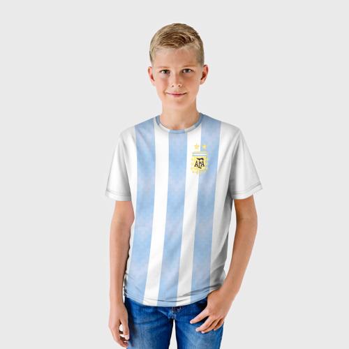 Детская футболка 3D  Фото 01, Аргентина